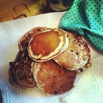 Blueberry pancakes © Emily Spencer